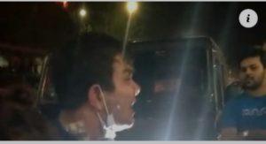 হাজী সেলিমের গাড়ি থেকে বেরিয়ে নৌবাহিনীর কর্মকর্তাকে মারধর