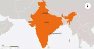 ভারতের ম্যাপ থেকে কাশ্মীর বাদ দিল সৌদি আরব
